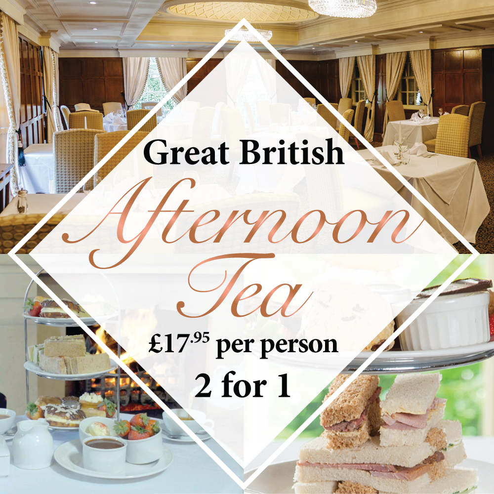 Great British Afternoon Tea 2 for 1
