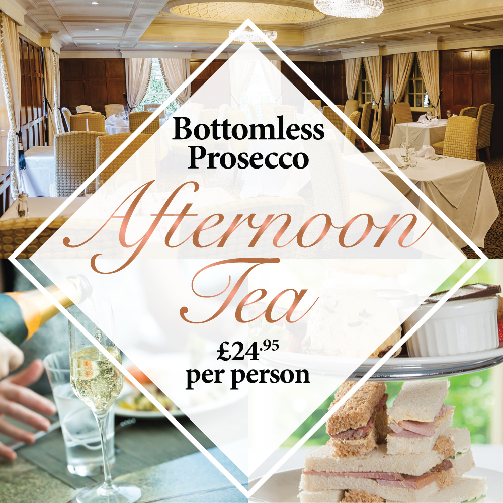 Afternoon Tea with Bottomless Prosecco