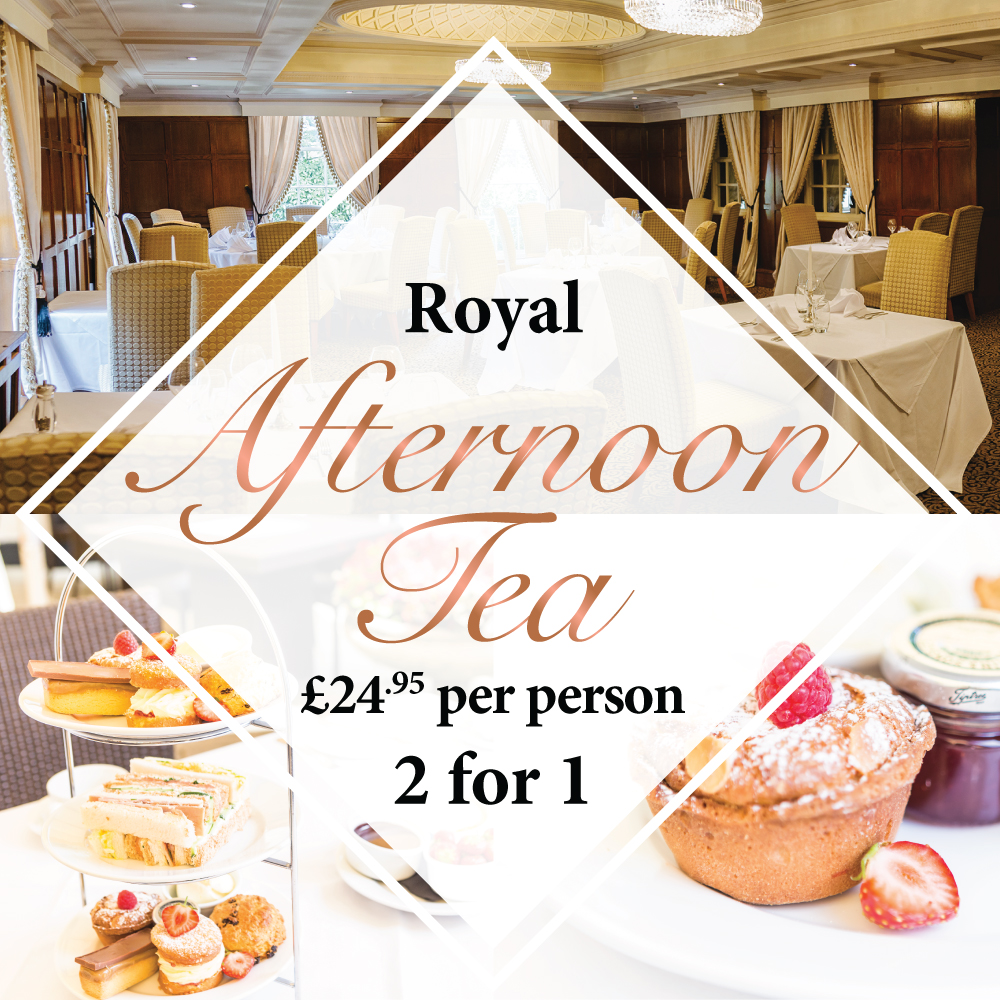 Royal Afternoon Tea 2 for 1