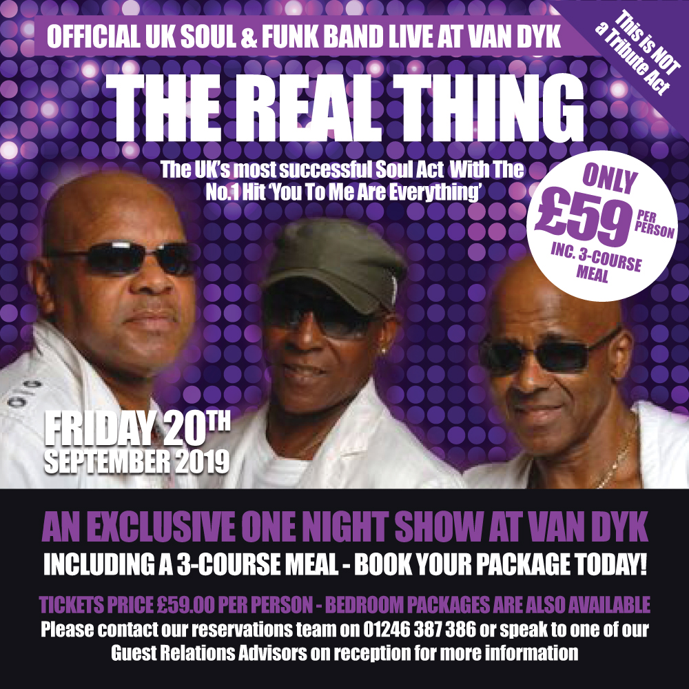The Real Thing (This is Not A Tribute Act)