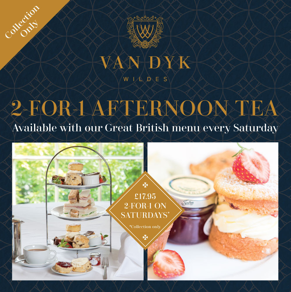2-For-1 Afternoon Tea