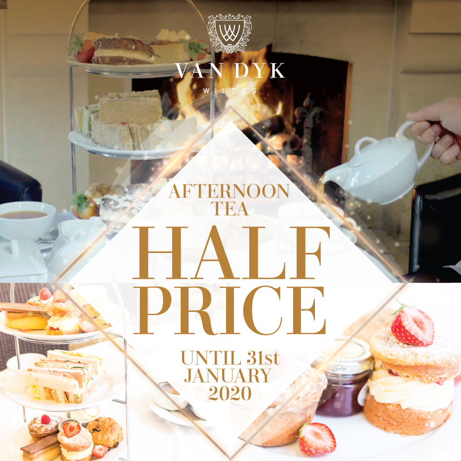 Half Price Afternoon  Tea