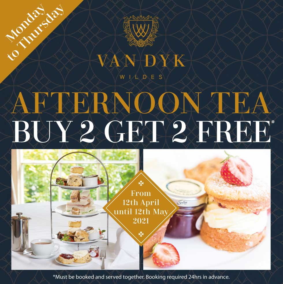 Afternoon Tea Buy 2 Get 2 Free