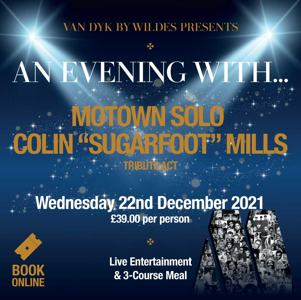 Motown Solo Colin 'Sugarfoot' Mills