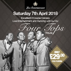 Four Tops (Tribute Act)