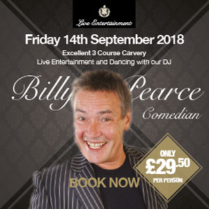 Billy Pearce (Top Male Comedian)